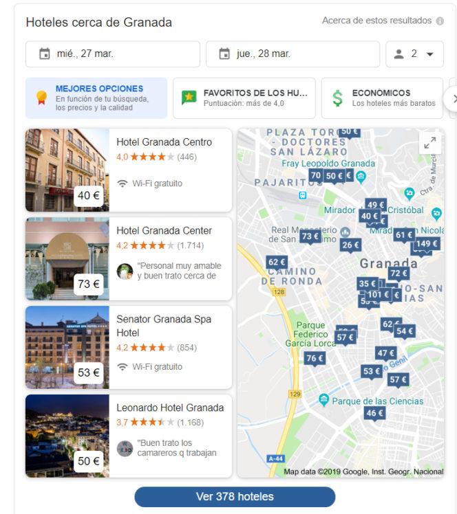Google ha lanzado un nuevo sitio de búsqueda de hoteles. Un movimiento que podría poner en graves problemas a las OTAs