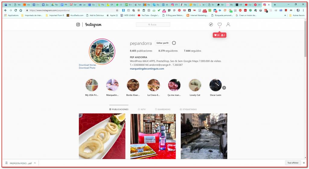 Community Manager Andorra somos especilaistas profesionales con resultados garantizados y reconocidos más de 100000 visitas en Pinterest y 7000000 de visitas en Google Maps