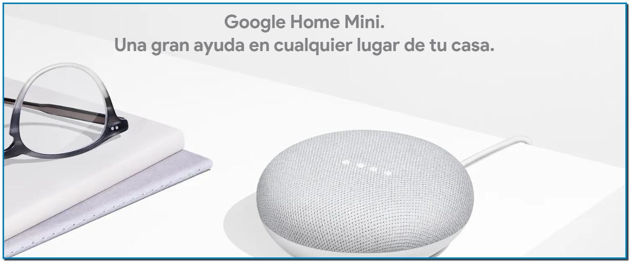 Una gran ayuda sin usar las manos. Google HomeMini es un altavoz inteligente con el Asistente de Google integrado, que te ayudará cada vez que lo necesites.¹