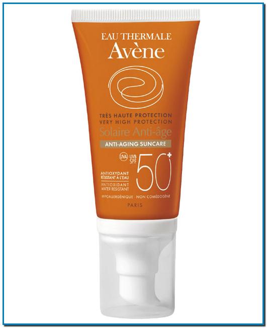 Comprar Avène Solar Antiedad SPF 50 en Farmacia Central Andorra de Avène Ofrece muy alta protección para las pieles sensibles