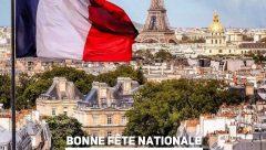 Bonne Fête Nationale du 14 Juillet 2019!