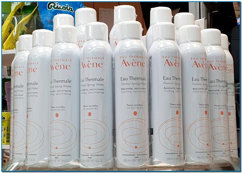 L'Eau thermale des Laboratoires Avène rafraîchit la peau et la protège contre les diverses irritations qui peuvent la dégrader