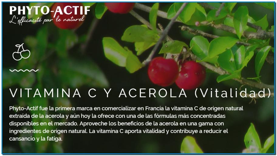 Comprar Phyto-Actif en Farmacia Central Andorra recibió el Premio Natexpo a la Innovación por su complemento alimenticio Acerola Start 100, una gragea masticable con acerola y rica en vitamina C