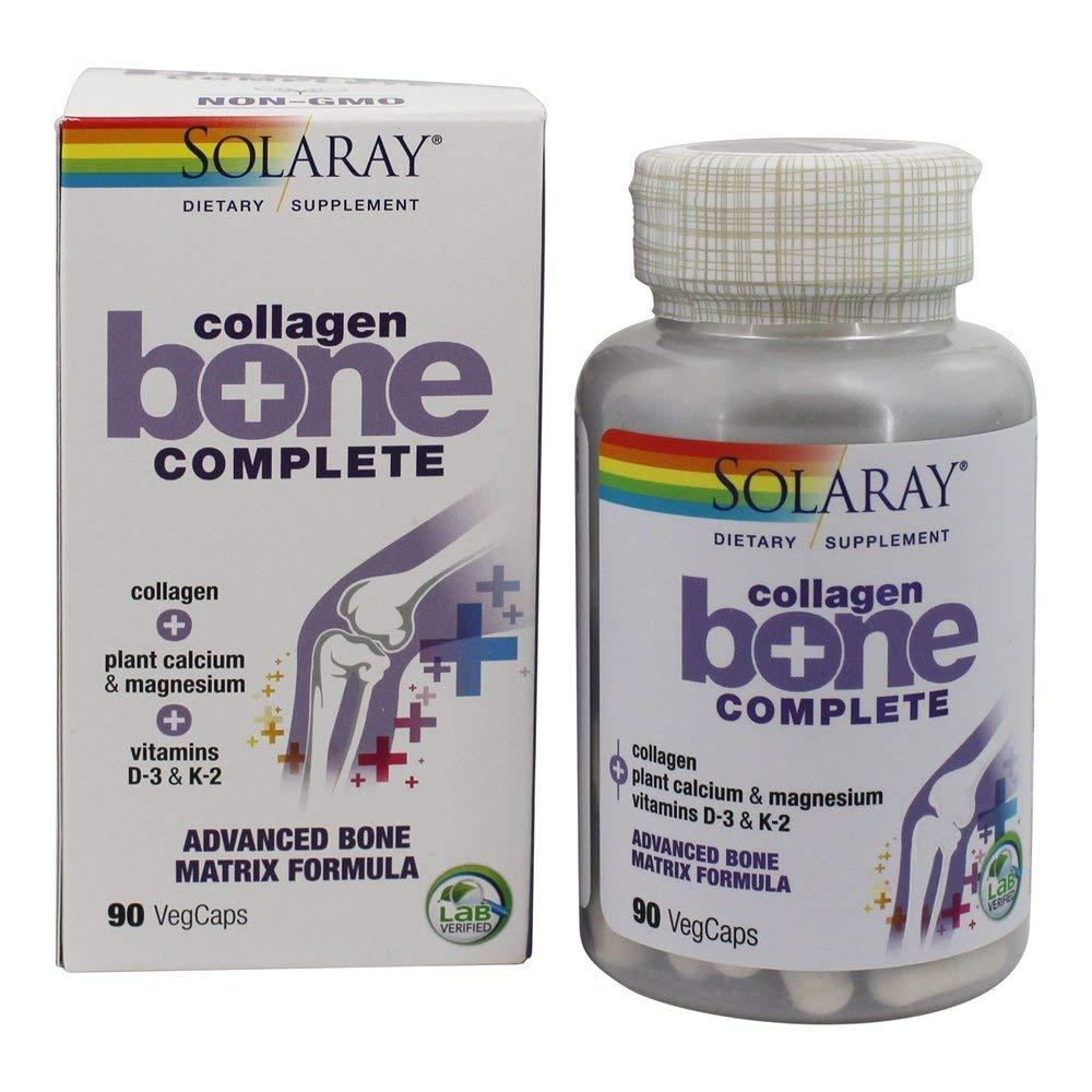 Comprar Collagen Bone Complete Fórmula avanzada en Farmacia Central Andorra de apoyo a la matriz ósea, aporta colágeno marino tipo I, III, complejo mineral de algas y Vitaminas K2, D3 y C.