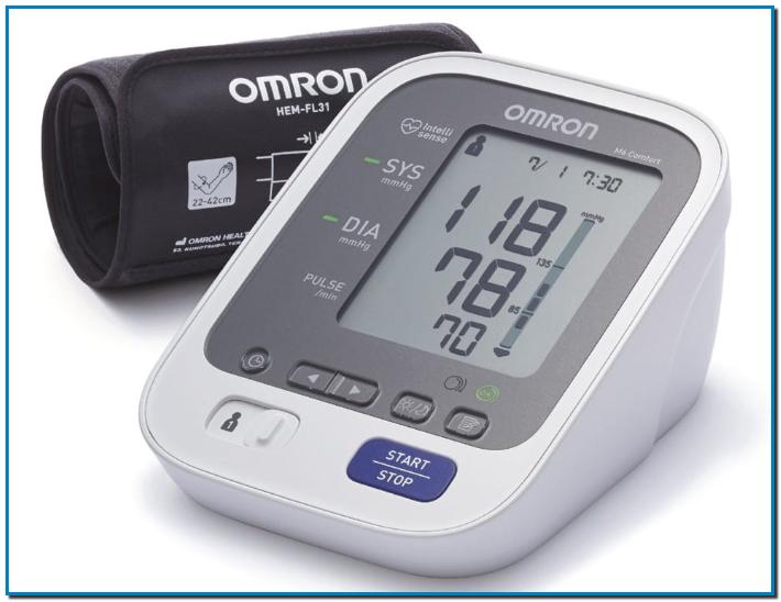 Comprar Omron Healthcare M6 Comfort en Gran Farmacia Andorra Online Monitor de presión. Este tensiómetro Omron M3 de la marca Omron está entre los aparatos para medir la tensión en casa más exactos