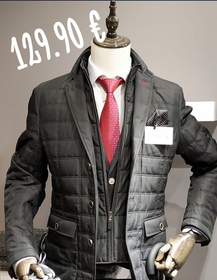 Col·lecció roba d'home hivern 2019 – 2020 - Vestits de senyor d'alta gamma fabricada per a «Executive Man» en exclusiva a Espanya.
