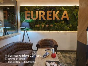 Menú Andorra a Taula Restaurant les Terres de l'Ebre a Hotel Eureka Escaldes Andorra