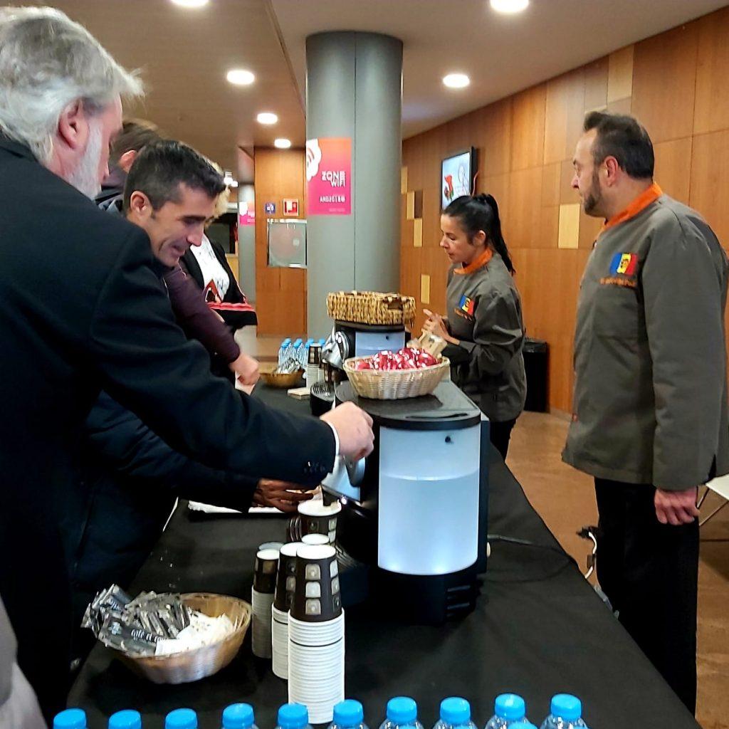 """Un dels càterings més sol·licitats són els anomenats """"Coffee Break"""" aquest es va fer ahir per la primera Jornada Internacional d'Empreses Tecnològiques per al Comerç a Andorra."""