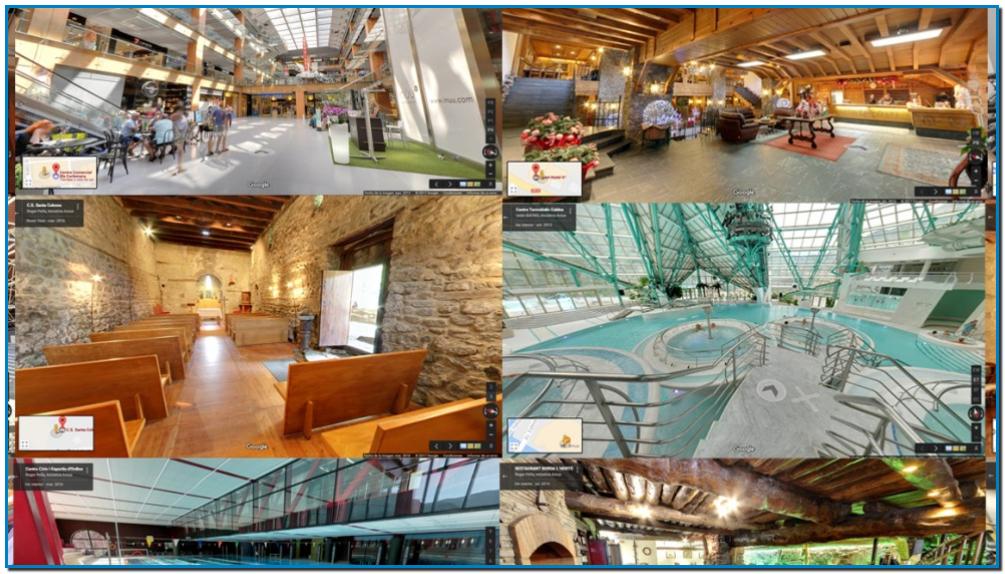 Google Business View Actua va posar en marxa el maig del 2013 un projecte per convertir Andorra en el primer país del món amb tota la seva oferta comercial a Google