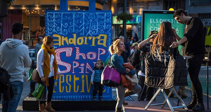 ANDORRA SHOPPING FESTIVAL 2019 Del 8 al 17 de noviembre de 2019 celebra una nueva edición que no te puedes perder
