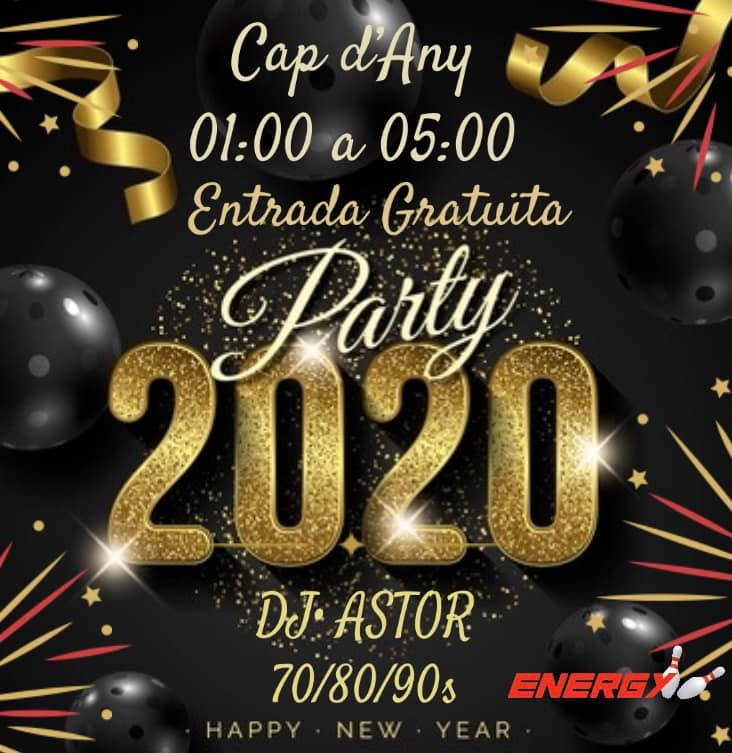 Fin de Año en Andorra en Club Energy Andorra Cap dany 2020. Passarem una nit amb música per cantar, saltar i ballar fins entrada la matinada. Entrada gratuïta d'1 a 5 de la matinada.
