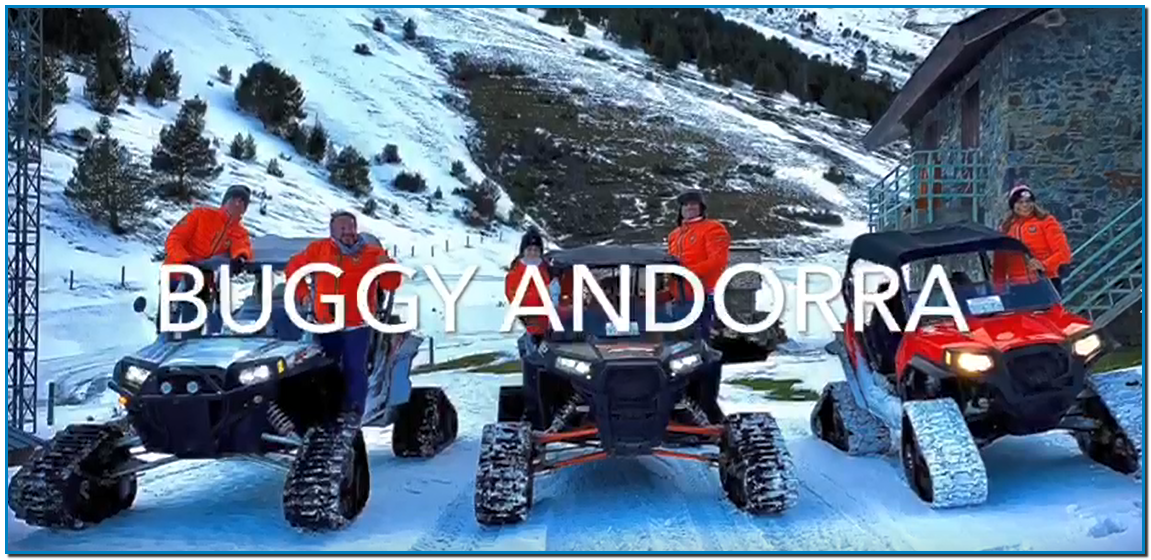 NOWY cross route in SNOW BUGGY from VALLNORD PALhas the perfect activity for you Guided by the best guides of the country Andreu Cachafeiro the owner of Hotel Eureka in Escaldes