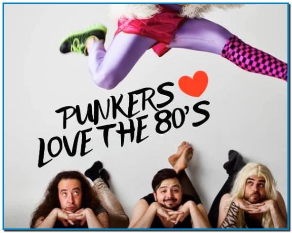 La millor festa garantida per a aquest divendres 24 de gener del 2020 amb Punkers Love the 80's. No te la perdis i vine a passar-ho bé a Club Energy.