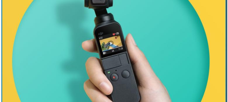 El Osmo Pocket es la cámara portátil con estabilizador en tres ejes más pequeña e inteligente del mundo fabricada por DJI