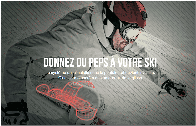 Ski-Mojo France distribue le meilleur exosquelette dédié aux sports de glisse sur le marché francophone.