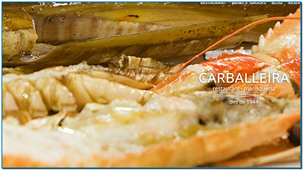 A few meters from the sea and right in front of Port Vell Restaurant Carballeira offers the best seafood from Galicia in Barcelona