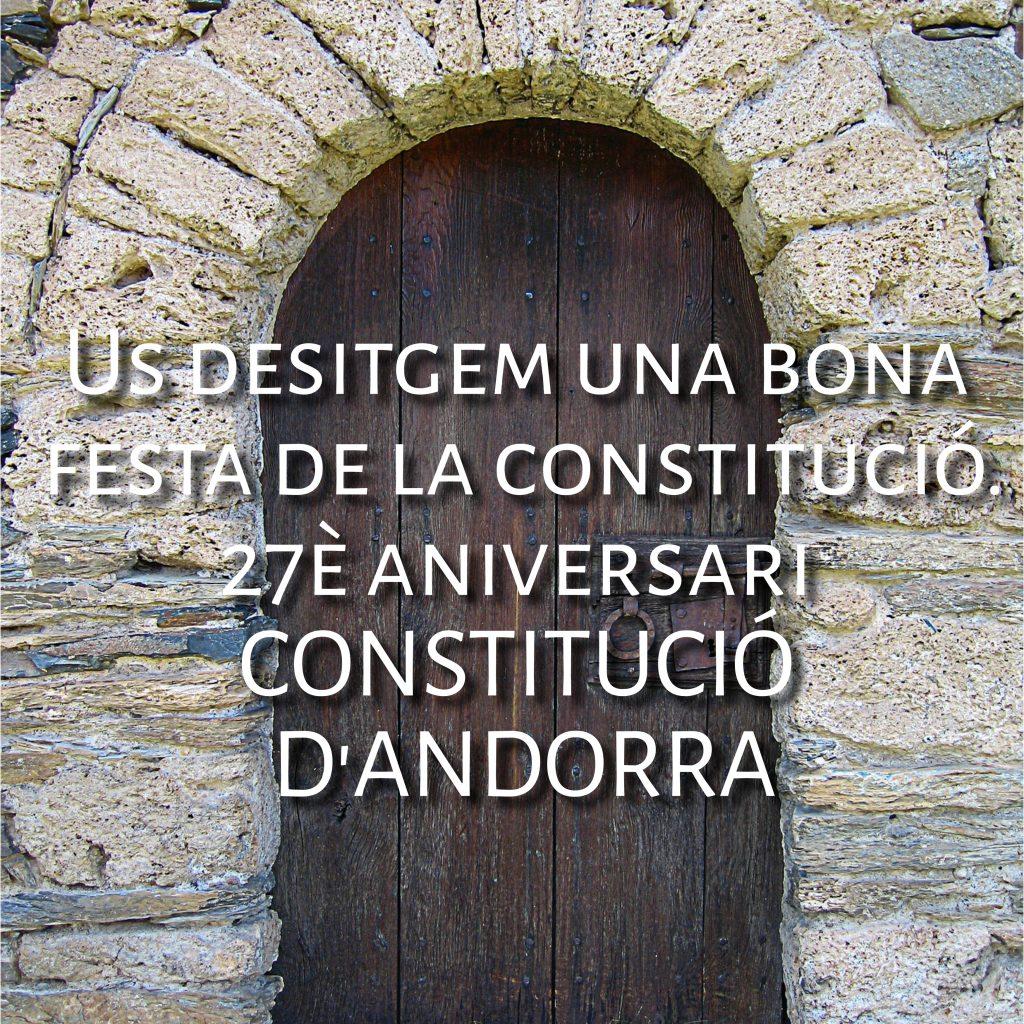 volem desitjar-vos un feliç dia de la constitució 2020 i que aquest 14 de Març sigui un dia que aprofitem per pensar que som víctimes d'una economia insensible