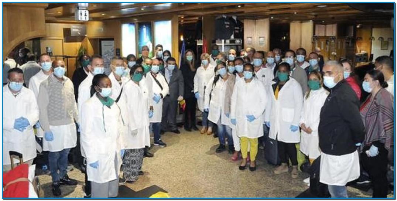 Al menos 39 profesionales de la salud de Cuba llegaron en la mañana de este lunes al principado de Andorra, para fortalecer el servicio del hospital local contra el coronavirus, informaron medios de prensa europeos.