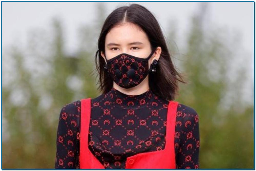 Las mascarillas de lujo que las marcas utilizan para explotar el negocio del coronavirus - Máscaras con logos como marcador del estatus social