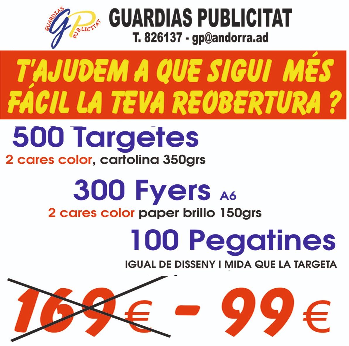 Impremta baix cost a Andorra Guardias Publicitat Imatge corporativa Disseny gràfic Renovació imatge corporativa Logotipus, dossiers, catàlegs, tríptics, flyers, targetes varietat de dissenys especialistes en targetes per Restaurants i Hotels