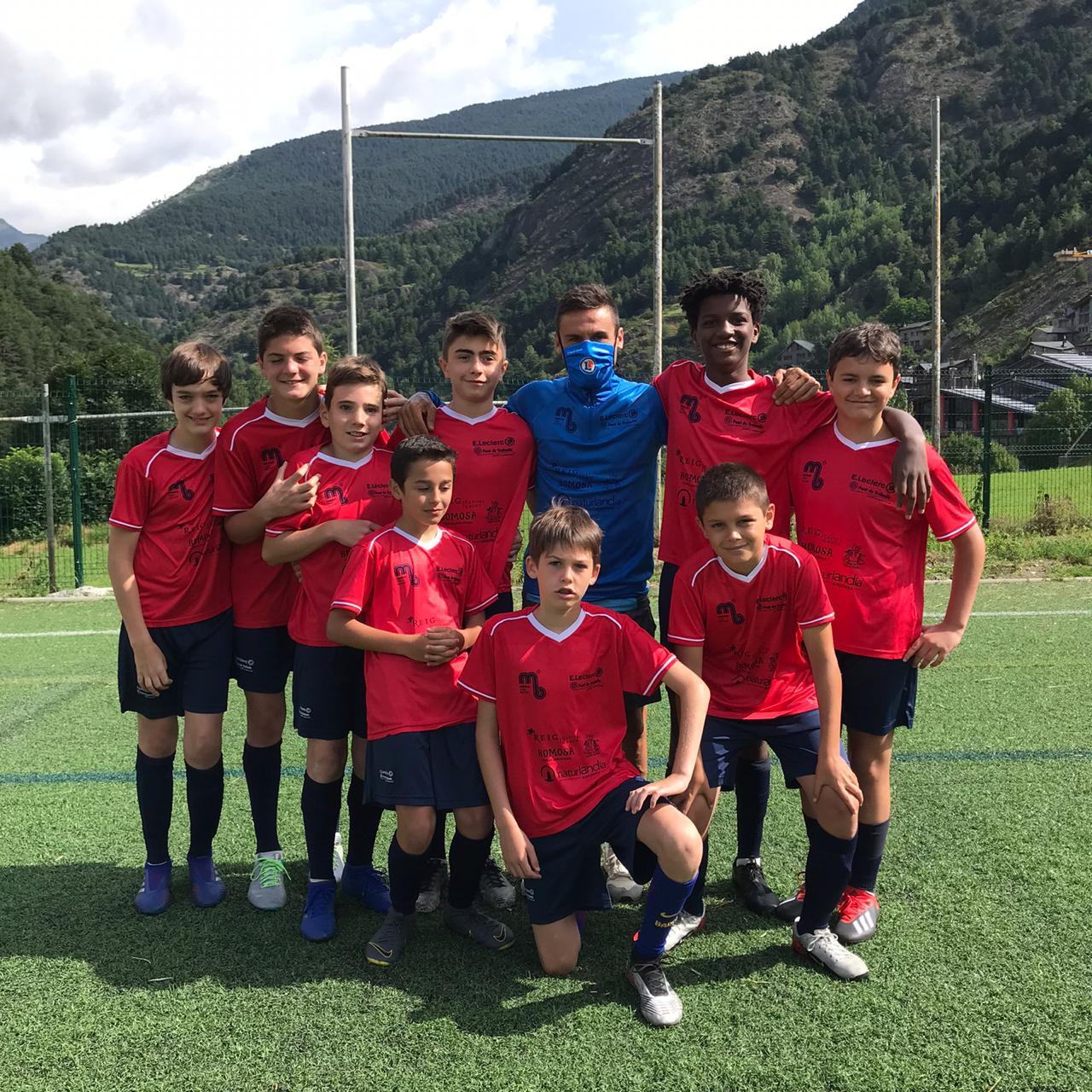 Campus Marc Bernaus Ordino Andorra | Una setmana de somni per a compartir amb els teus amics i aprendre tots els secrets d'aquest gran joc el futbol