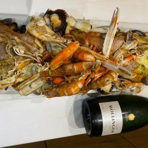 Comer pescado y marisco fresco y de excelente calidad también es posible en Escaldes Andorra. Restaurante Gastronómico Beluga