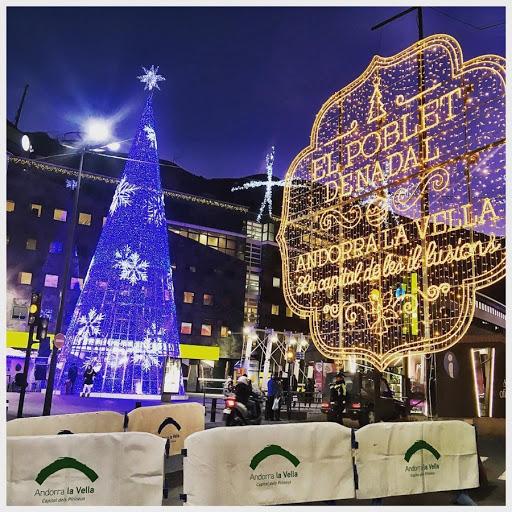 Avui hem de felicitar el Comú d'Andorra la Vella per al seu treball enfocat a què a Andorra tinguem un Bon Nadal.
