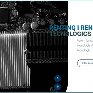 RR COMPUTING empresa andorrana dedicada al rènting tecnològic Equips informàtics sense haver de fer grans desemborsaments de capital.