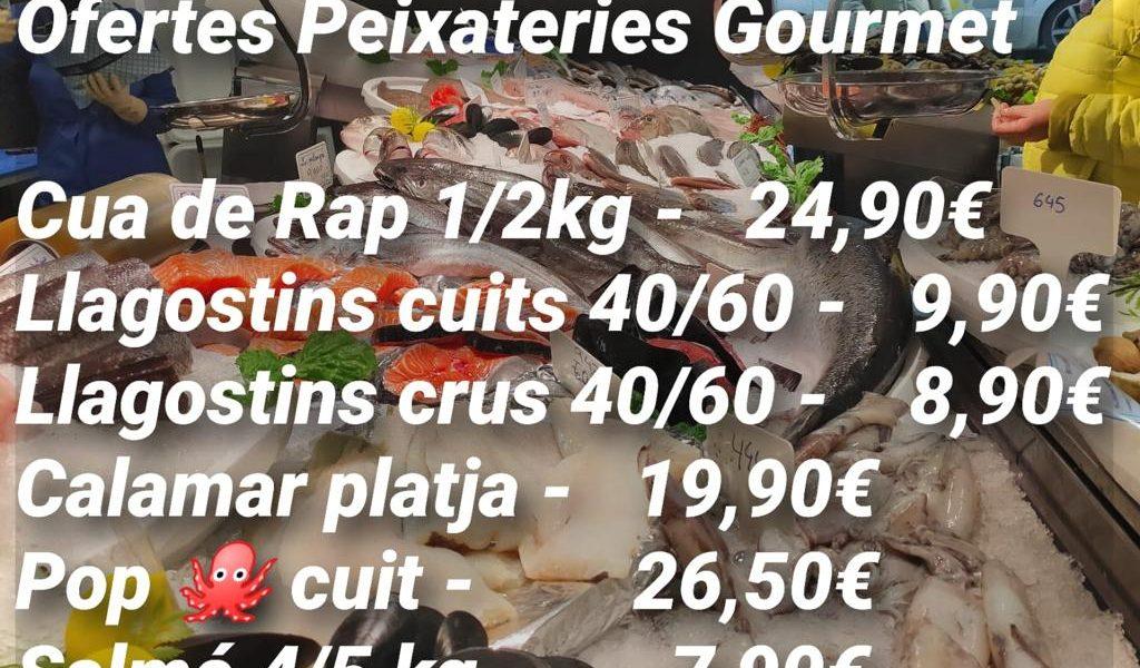 Ofertes Peixateries Gourmet Andorra del 29 al 31 de desembre del 2020