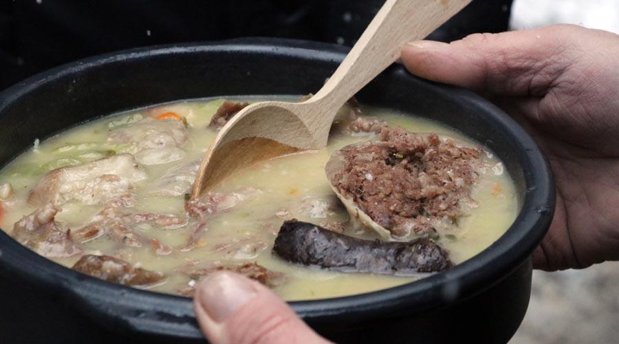 Casa Eyre Restaurant oferirá aquest cap de setmana la tradicional escudella de Sant Antoni de La Massana