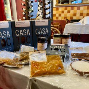 Avui hem fet una degustació de platets de Casa Toc a l'Arrosseria Andorra - Casa Toc propietat i disseny del restaurant Toc al Mar de Begur hem posat en marxa Casa Toc