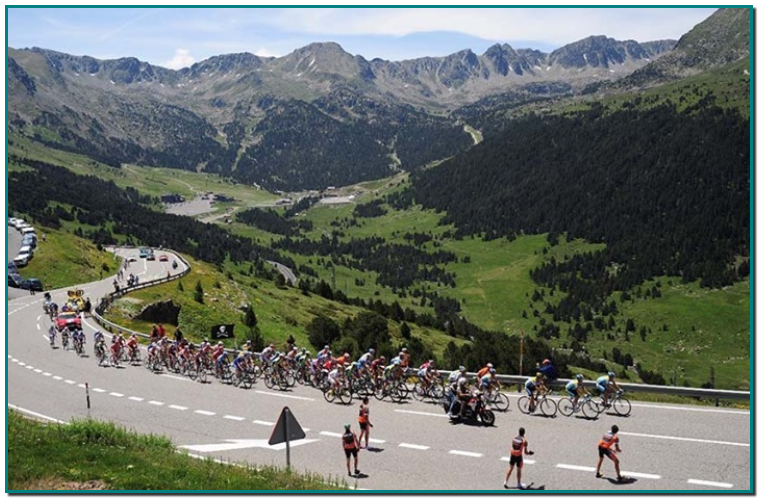Le Tour de France en Andorre - ImmoGrigo & Grifo Vacances Location Appartements en andorre