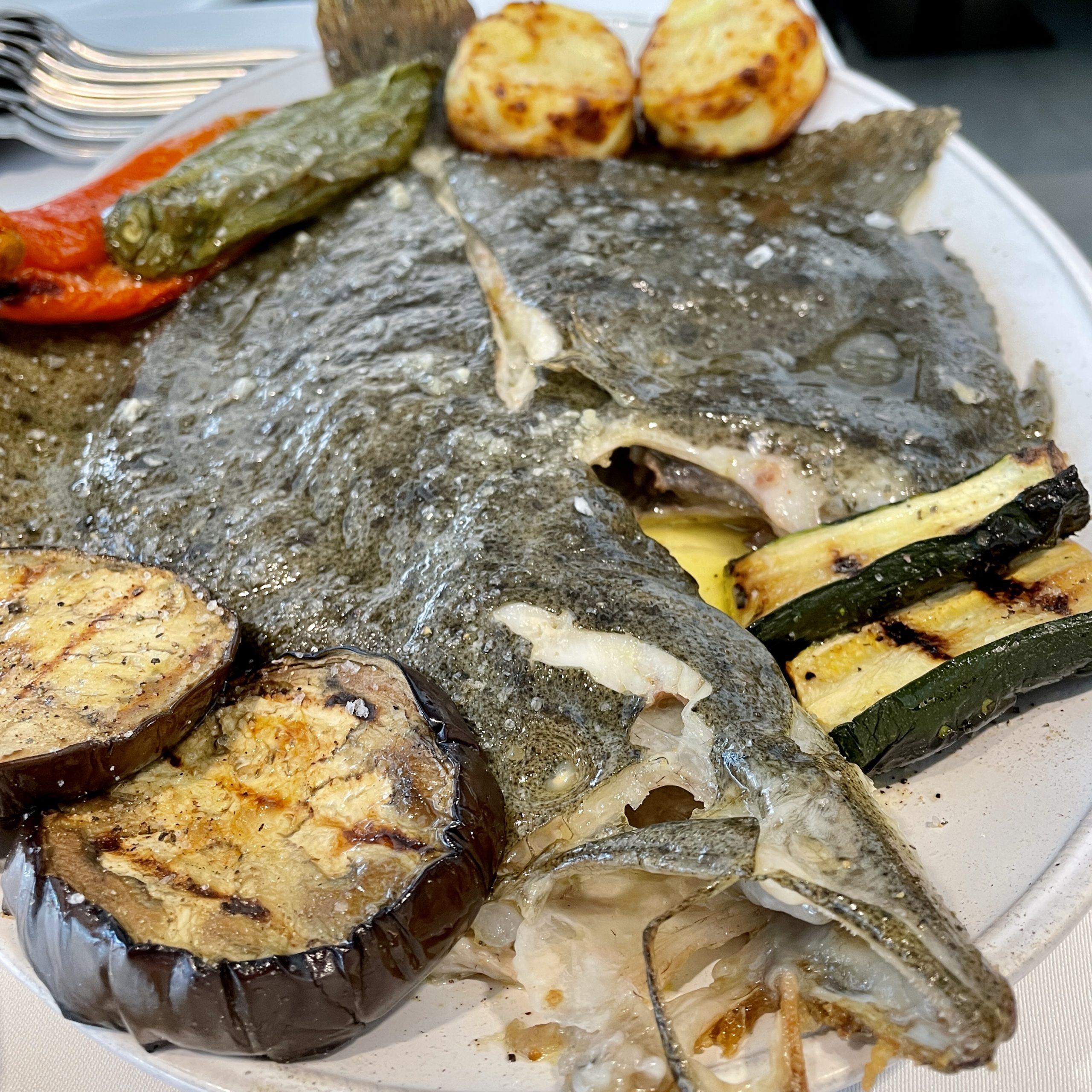 Ni he esmorzat esperant la una del migdia per anar a restaurant KRAM GASTRO & GRILLING OYSTER BAR - TURBOT SALVATGE